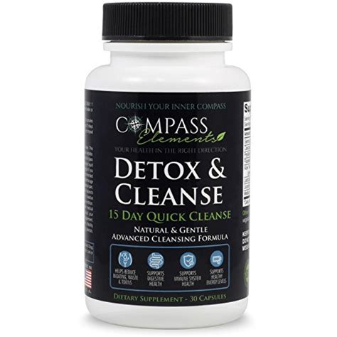 Advanced Detox Solutions Ultimate Cleanser Dietary Supplement by Detox Cleanse 15 Day Cleanse Advanced Formula