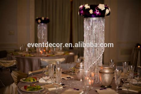 chandelier table centerpieces for weddings view