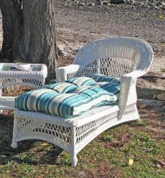 outdoor wicker patio chaise white flickr photo