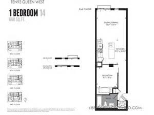 1 bedroom condo floor plans ten93 queen west pre construction condo liberty village condo