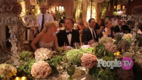 jessica simpson july 2014 the happy couple at their beautiful head table table