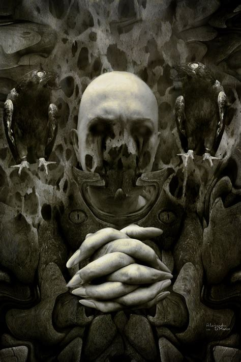 the art of horror the dark priest by 09alex on