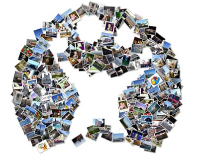 7 picture collage shape collage