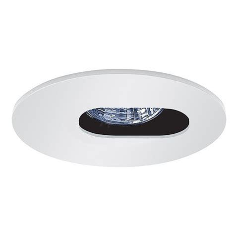 3 quot low voltage recessed lighting white slot aperture trim