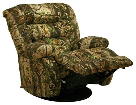 Oversized Camo Recliner by Catnapper Cloud Nine Infinity Camouflage Chaise Rocker Recliner 4659 9614