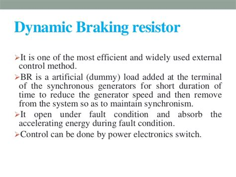 braking resistor techniques braking resistor techniques 28 images faq what is dynamic braking and when is it used
