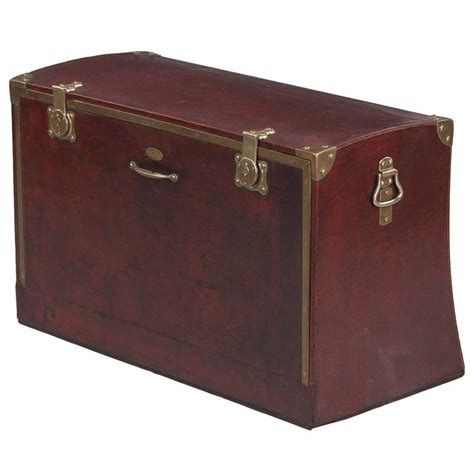 luggage trunks antique french automobile trunk circa 1900s for sale at