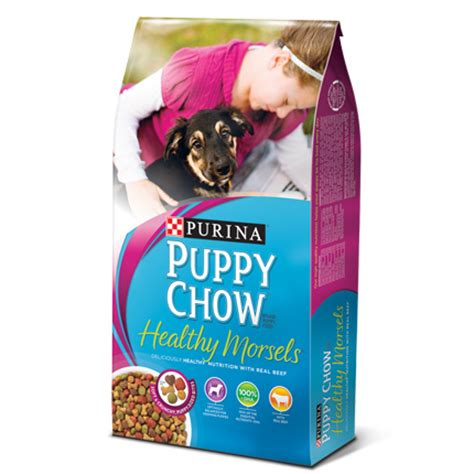 puppy chow purina purina puppy chow brand puppy food healthy morsels