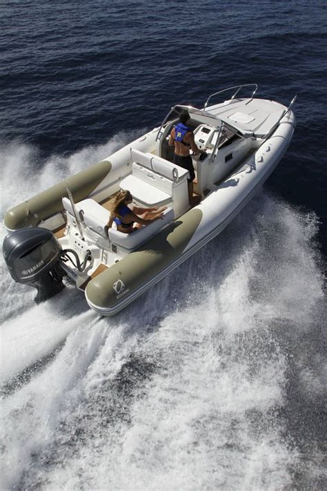 zodiac inflatable fishing boats inflatable boat twin engine semi rigid with cabin