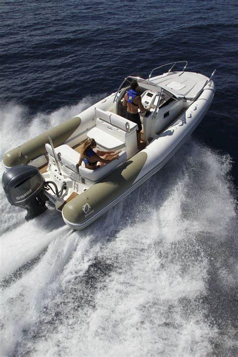 inflatable boat twin engine semi rigid with cabin - Zodiac Boat Twin Engine