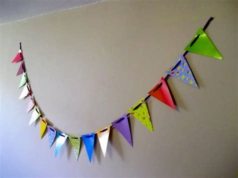 Make Your Own Paper Bunting - things to make and do make paper bunting