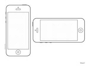 iphone 4s template iphone 5 design templates