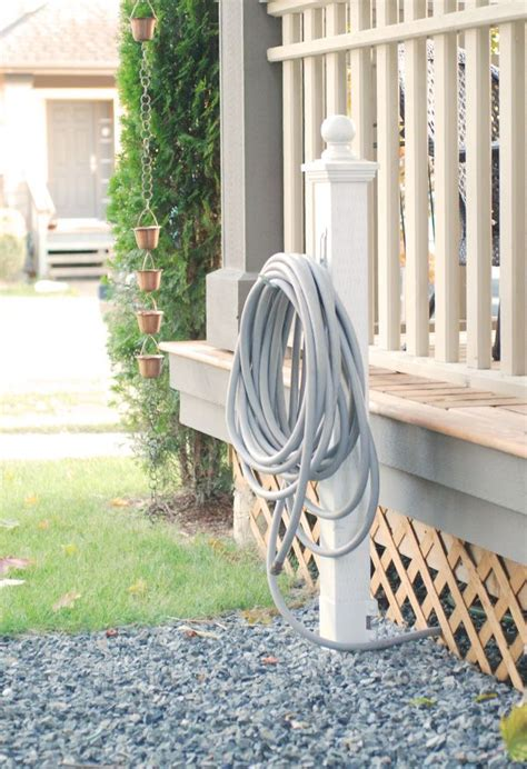 Garden Hose Post 17 Best Ideas About Garden Hose Storage On