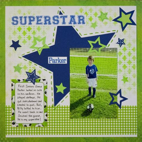 scrapbook layout soccer 177 best images about scrapbooking soccer on pinterest