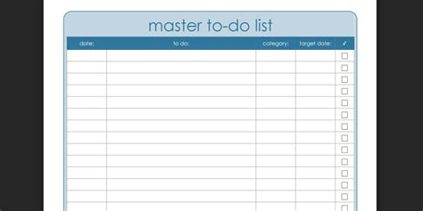 master to do list template every to do list template you need the 21 best templates