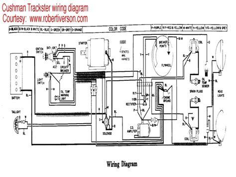 cushman 898322 wiring diagram wiring diagram with