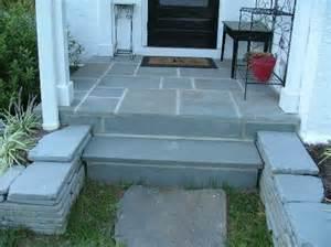 flagstone steps patio