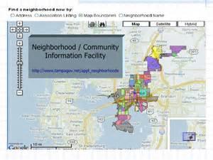 Neighborhoods In Ta Neighborhoods Information Facility
