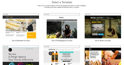 godaddy website builder templates choice image templates