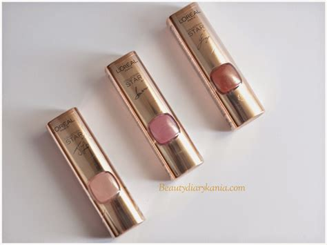 Lipstik Loreal Indonesia diary kania l oreal color riche collection lipsticks review swatches