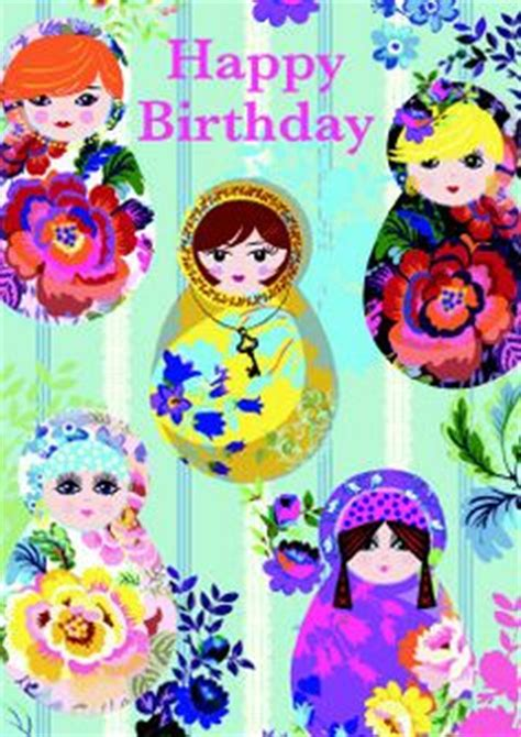 printable birthday cards in russian russian doll s on pinterest matryoshka doll doll and