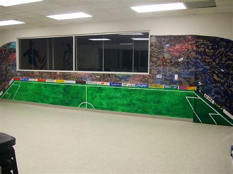 stadium wall murals everything s an easel provides custom work in the canton arbor ypsilanti area we