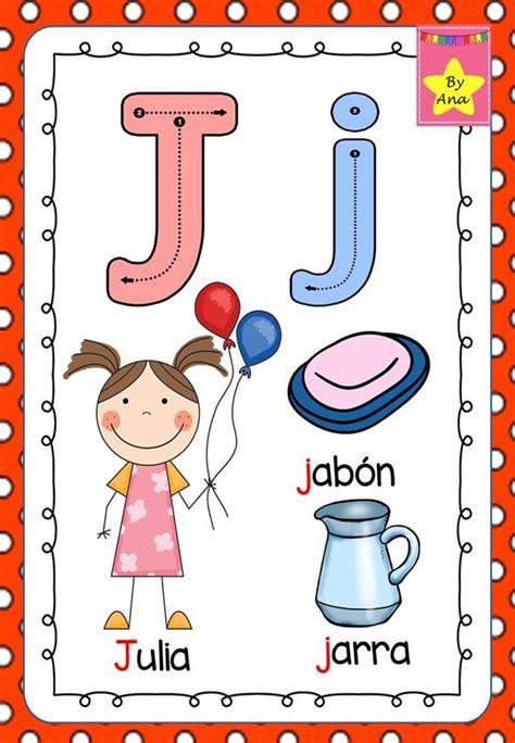abecedario para decorar la sala de clases abecedario psicomotriz