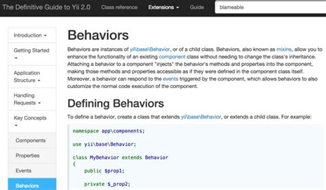 yii2 assets tutorial how to program with yii2 blameable behaviors