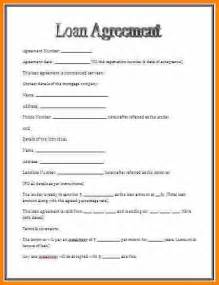 Loan Agreement Template Pdf by 9 Personal Loan Agreement Pdf Mileage Tracker Form