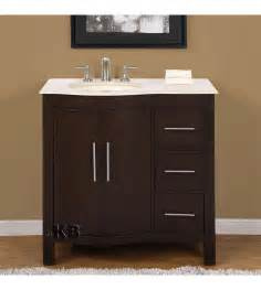 bathroom cabinets with sinks traditional 36 single bathroom vanities vanity sink