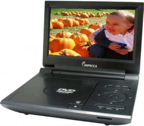 portable dvd player movie format impecca dvp915k model dvp915 black portable dvd player