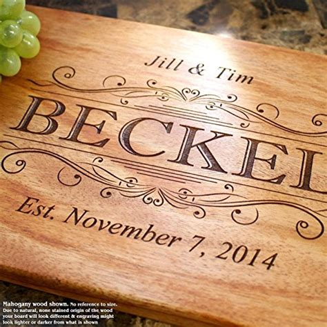 Wedding Gift Cutting Board by Top 25 Best Personalized Cutting Boards 2018