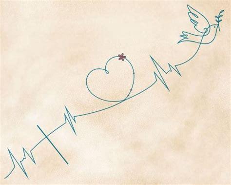 hope heartbeat tattoo faith love hope tattoo meaning and design ideas
