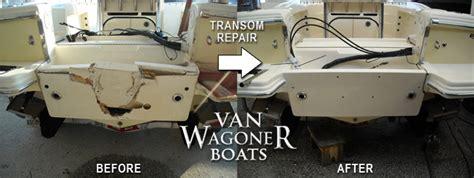 where is the transom on a boat boat fiberglass repair custom fiberglass