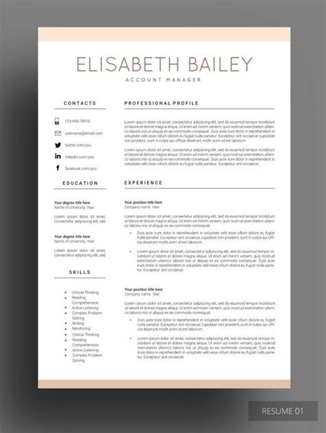 Resume Template With Design Les 25 Meilleures Id 233 Es De La Cat 233 Gorie Cv Original Gratuit Sur Cr 233 Er Un Cv Original