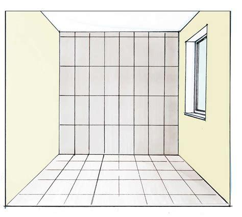 kleine badezimmerboden fliese raumproportionen mit fliesen im richtigen format verbessern