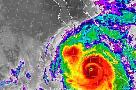 imagenes satelitales infrarrojas retiran odile de la lista de nombres de ciclones por