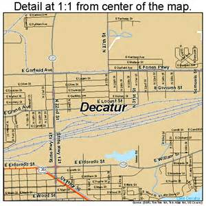 decatur illinois map 1718823