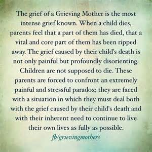 the grief of a grieving and absolutely