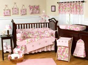 Camouflage pink baby bedding camo nursery decor and crib sets
