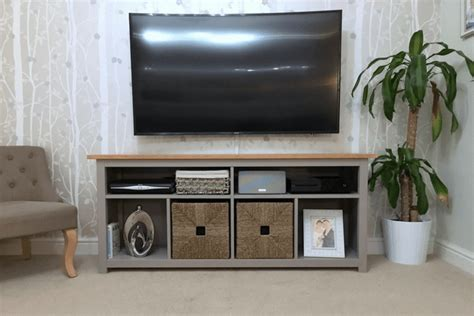 Marvelous Living Room Tv Wall Ideas #2: HEMNES-TV-unit-hack.png