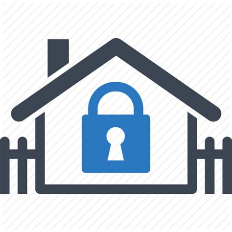 home mortgage real estate safe secure icon icon
