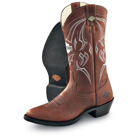 harley davidson cowboy boots for s harley davidson 174 bandera western boots brown