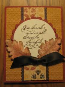 handmade thanksgiving fall blessings card by stinmemories