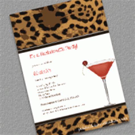 leopard print invitations templates free wedding invitation templates part 15