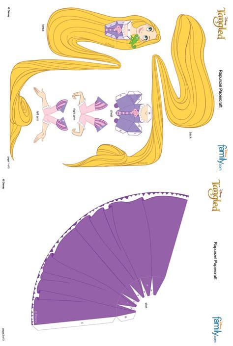 Disney Princess Papercraft Printable 17 best images about cubeecraft 2 on rapunzel