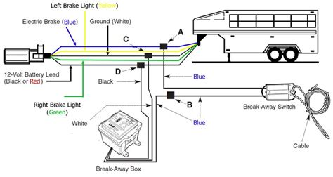 wiring diagram top trailer breakaway switch