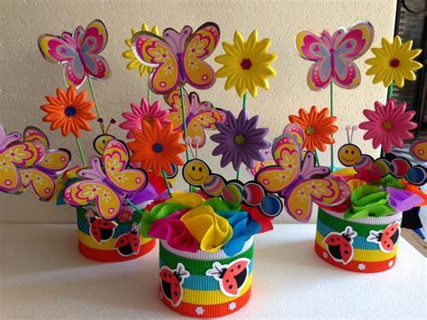 decoraciones infantiles mariposas y flores