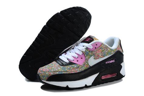 nike air max shoes womens black pink nike0286