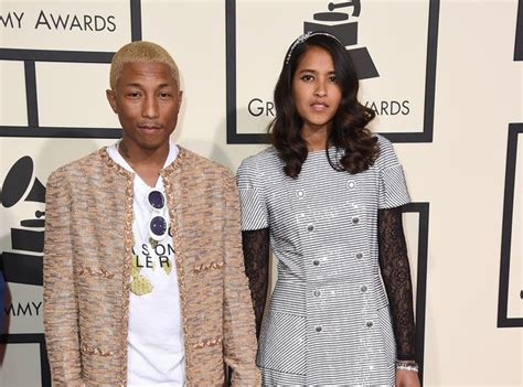 how old is helen lasichanh pharrell williams and helen lasichanh grammys 2016 red
